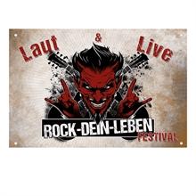 ROCK-DEIN-LEBEN, Fahne