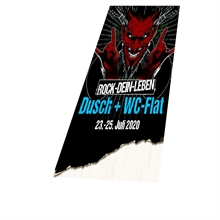 ROCK-DEIN-LEBEN 2020 - Dusch & WC Flat